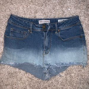 Pacsun dip dyed shorts
